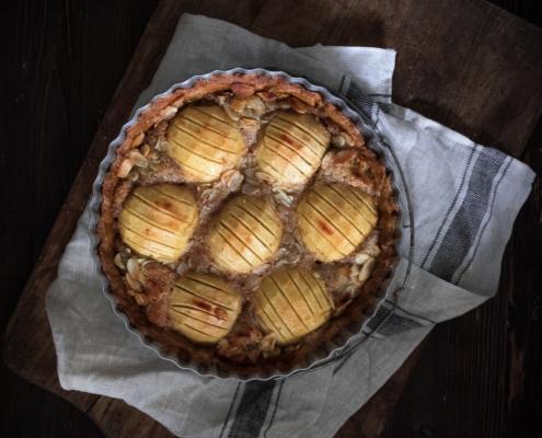 Apfel-Mandel-Tarte-Food-Foodfoto-Foodfotografie-Foodfotograf-Backen