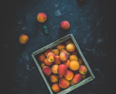 Aprikosen-Kiste - Foodfotografie -Fotograf-Michael Nölke