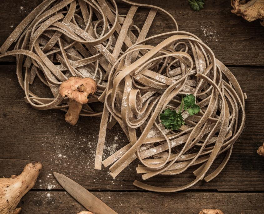 Pasta & Pfifferlinge - Food-Fotografie - Michael Nölke
