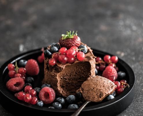 Schokoladenmousse- Food-Fotografie -Fotograf - Michael Nölke